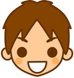 男性(笑顔)
